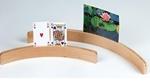 Afbeeldingen van Kaartenboog houder hout 50 cm
