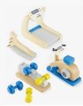 Afbeeldingen van Poppenhuis meubels Fitness studio Hape