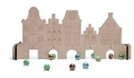 Picture of Knikkerspel huisjes met knikkers BS Toys Buitenspeel