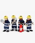 Afbeeldingen van Brandweermannen Tidlo buigpoppetjes poppenhuispoppetjes
