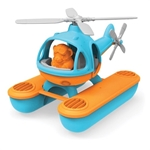 Bild von Water helicopter blauwe top - recycled plastic - Greentoys
