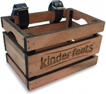 Afbeeldingen van Fietskrat hout Kinderfeets