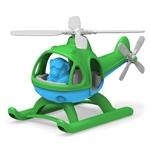 Afbeeldingen van Helicopter groene top - recycled plastic - Greentoys