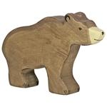 Bild von Bruine beer Holztiger