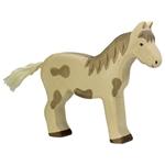 Bild von Holztiger - Paard staand gevlekt