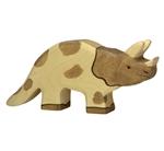 Bild von Holztiger - Triceratops dino