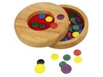 Bild von Vlooienspel in houten doosje