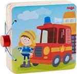 Bild von Houten babyboekje Brandweer Haba