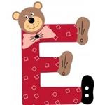 Picture of Gekleurde beren letter E