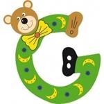 Afbeeldingen van Gekleurde beren letter G