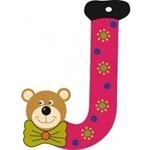 Afbeeldingen van Gekleurde beren letter J