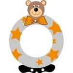 Afbeeldingen van Gekleurde beren letter O