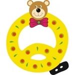 Image de Gekleurde beren letter Q