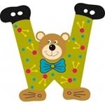 Afbeeldingen van Gekleurde beren letter W