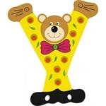 Image de Gekleurde beren letter Y