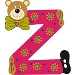 Afbeeldingen van Gekleurde beren letter Z
