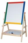 Afbeeldingen van Schoolbord staand Woody 65 cm hoog
