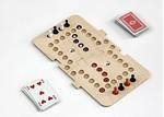 Afbeeldingen van Keezbord spel aanvulling naar 8 personen en tevens 2 x 4 personen