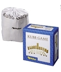 Afbeeldingen van Kubb werpspel - berkenhout - koning 30 cm - Philos