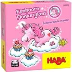 Afbeeldingen van Memospel Eenhoorn Flonkerglans Haba 3 - 99 jaar