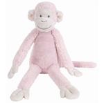 Afbeeldingen van Knuffel Aap Mickey zacht roze 32 cm Happy Horse
