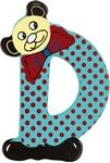 Afbeeldingen van kleine beren letter D