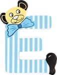 Afbeeldingen van kleine beren letter E