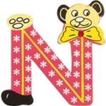 Afbeeldingen van kleine beren letter N