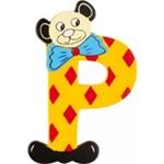 Afbeeldingen van kleine beren letter P
