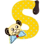 Afbeeldingen van kleine beren letter S