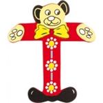 Bild von kleine beren letter T