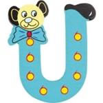 Afbeeldingen van kleine beren letter U