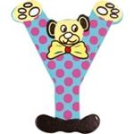 Afbeeldingen van kleine beren letter Y