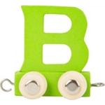 Bild von Lettertrein gekleurd B