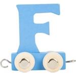 Bild von Lettertrein gekleurd F