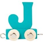 Afbeeldingen van Lettertrein gekleurd J
