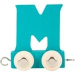 Afbeeldingen van Lettertrein gekleurd M