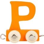 Afbeeldingen van Lettertrein gekleurd P