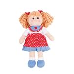 Afbeeldingen van Lappenpop Emily 34cm Bigjigs