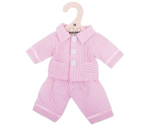 Bild von Poppenkleding Pyjama roze (M) 30cm Bigjigs