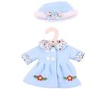 Afbeeldingen van Poppenkleding Blauw jasje en muts (M) 30cm Bigjigs
