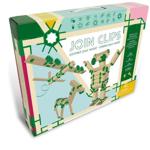 Afbeeldingen van Luxe Edition  80 bouwplankjes  als Kapla en 400 Join Clips