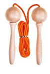 Afbeeldingen van Springtouw professie 3 meter Oranje koord