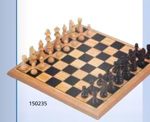 Afbeeldingen van Schaakspel hout compleet