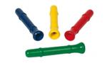 Afbeeldingen van Trompetfluit 12 cm in meerder kleuren GOKI