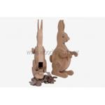 Bild von Spaarpot haas konijn beukenhout