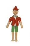 Bild von Pinokkio hout beweegbaar 10 cm Sevi