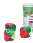 Bild von Jongleerballen set van 3 klein gekleurde ballen