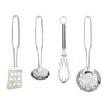 Afbeeldingen van Metalen keukengerei (4-delig)