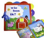 """Afbeeldingen van Houten boekje puzzel: wie ben ik """"boerderij"""""""